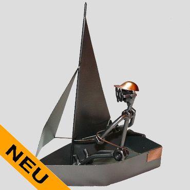 SCHRAUBENMÄNNCHEN Segler Bootsfahrer Segeln – Bild 1