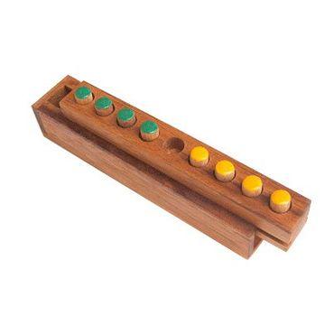 Seitenwechsel - Changing Four - Switch 8 Holz Puzzle Knobel IQ-Spiel – Bild 1