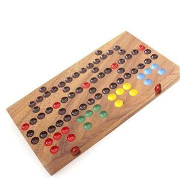 Barricade, Malefiz Holz Puzzle Knobel IQ-Spiel – Bild 3