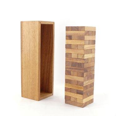 Jenga, Holzturm, Wackelturm Holz Puzzle Knobel IQ-Spiel – Bild 2