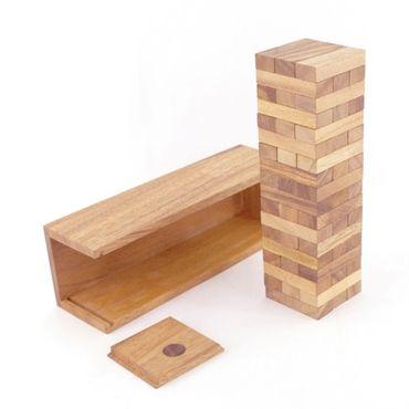 Jenga, Holzturm, Wackelturm Holz Puzzle Knobel IQ-Spiel XXL – Bild 3