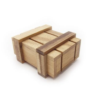 Magic Box (Pandoras Box) Holz Puzzle Knobel IQ-Spiel