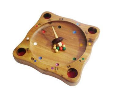 Holzroulette, Roulette Holz Puzzle Knobel IQ-Spiel – Bild 1