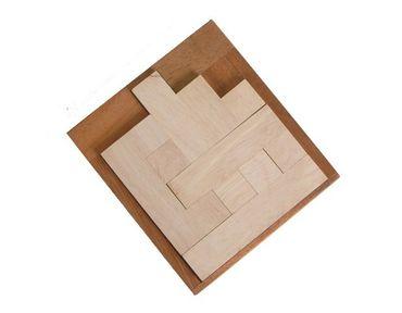No Way/Kein Ausweg Holz Puzzle Knobel IQ-Spiel – Bild 1