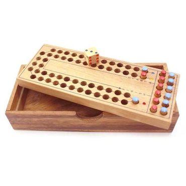 X Pferderennen - Horse Race Holz Puzzle Knobel IQ-Spiel