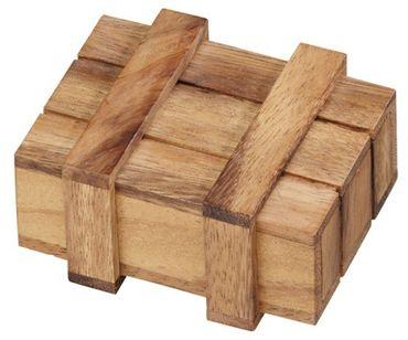 Getränk in Pandoras Box II - Magic Box Schatztruhe Holz Puzzle Knobel IQ-Spiel