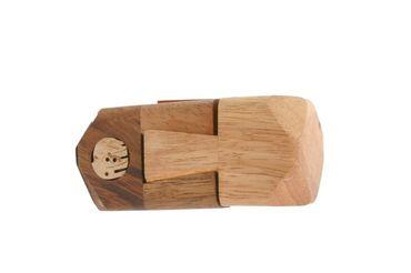 Burg Puzzle - Castle Puzzle Holz Puzzle Knobel IQ-Spiel – Bild 1
