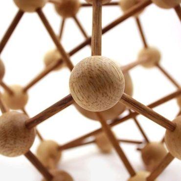 Galaxy Puzzle / Atom Puzzle Holz Puzzle Knobel IQ-Spiel – Bild 4