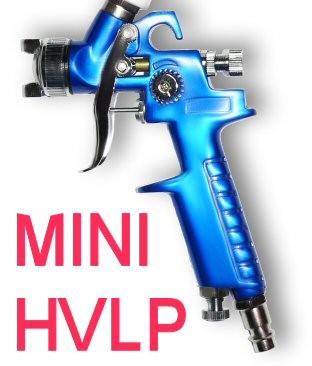 MINI HVLP Lackierpistole Spritzpistole 0,8mm H2000A1 – Bild 2
