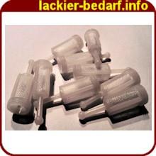 Stecksieb / Steckfilter / Lackfilter 100 Stück – Bild 1