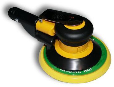 Druckluft Exzenterschleifer 150mm Absaugung Klett gelb nicht mehr lieferbar – Bild 1