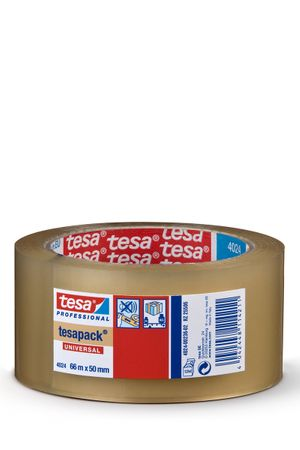 TESA Klebeband tesapack® 4024 PP, transparent 50 mm x 66 m  VE= 36 St.