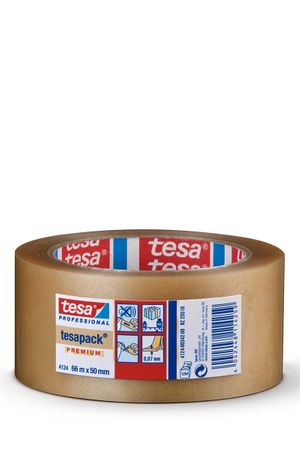 TESA Klebeband tesapack® 4124 PVC, transparent 50 mm x 66 m VE= 36 St.