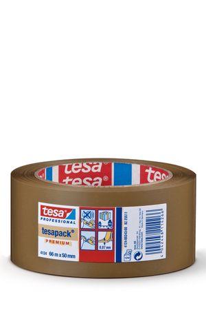 TESA Klebeband tesapack® 4124 PVC, natur 50 mm x 66 m VE= 36 St.