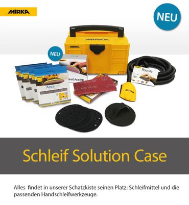 Schleif Solution Case + DEROS im Case