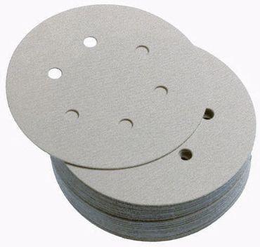 Schleifscheiben 150mm INDUSTRIE Klebe P500 6-fach gelocht 100 Stück