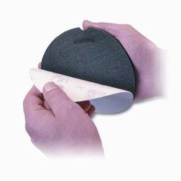 Hand Schleifteller 125mm Klett mit Klettschlaufen – Bild 2