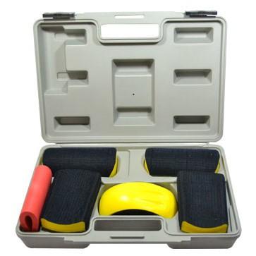 Handblock SET im Koffer mit 6 Teilen – Bild 1