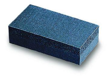 MIRKA Handblock ohne Absaugung  70 x 125 mm Klett  ungelocht (1 St)  doppelseitig – Bild 1