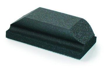 MIRKA Handblock ohne Absaugung  70 x 125 mm Klett  ungelocht (1 St)  Moosgummi/weich mit Griffmulde – Bild 1