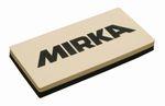MIRKA Handblock ohne Absaugung  125x60x12mm  2 Seiten weich/hart    ungelocht (1 St)  für 1/4 Bögen, wasserfest 001