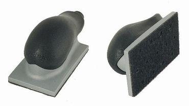 MIRKA Handblock mit Absaugung  70 x 125 mm Klett  13-Loch (1 St)  Kunststoff, mit Luftregulierung – Bild 1