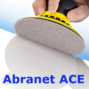 MIRKA Scheiben Abranet Ace Ø 77 mm Klett P320 Gitternetz (50 St)