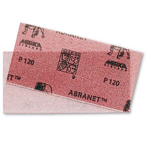 MIRKA Streifen Abranet Ace 115 x 230 mm Klett P180 Gitternetz (50 St)   – Bild 1