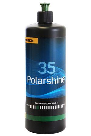 MIRKA Polarshine 35  1000 ml    (1 St)  Grobe Politur - eignet sich für besonders harte Oberflächen und schnelle Polierverfahren. – Bild 1