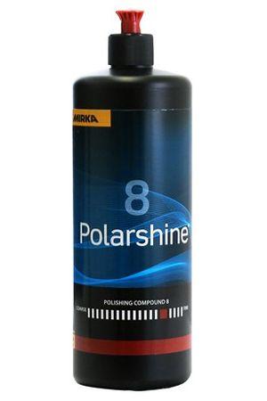MIRKA Polarshine 8  1000 ml    (1 St)  Mittelfeine Politur - erzeugt durch sehr feine Schleifkörner einen besonders hohen Glanzgrad. – Bild 1