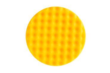 MIRKA Polarshine Polierpads  Ø 150 mm    (2 St)  Mirka Schaumstoffpad PRO gelb gewaffelt (2er Pack) – Bild 2