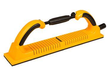 MIRKA Handfeile mit Absaugung (flexibel)  70 x 400 mm Klett  53-Loch (1 St)  Kunststoff – Bild 1