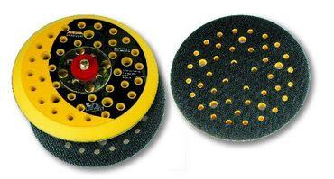 """MIRKA Abranet Grip-Teller (PU) medium Ø 125 mm Klett  44-Loch (1 St)  5/16"""" Gewinde, inkl. Schutzauflage – Bild 2"""