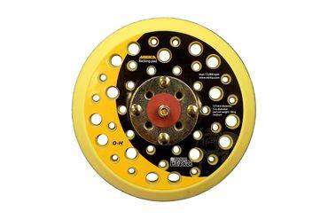 """MIRKA Abranet Grip-Teller (PU) medium Ø 125 mm Klett  44-Loch (1 St)  5/16"""" Gewinde, inkl. Schutzauflage – Bild 5"""