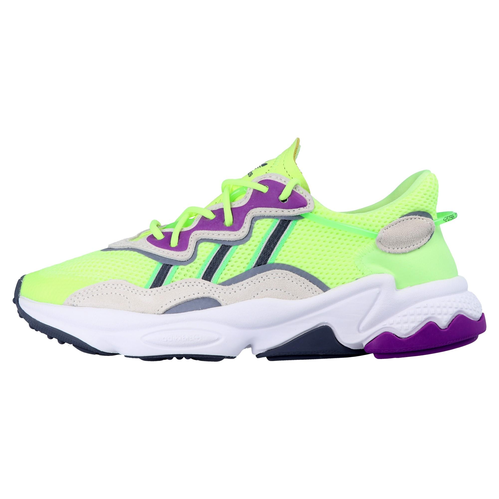 Details zu adidas Originals EE5720 OZWEEGO W Damen Sneaker Turnschuhe Neon Gelb Schuhe Neu