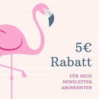5 Euro Gutschein für neue Newsletter Abonnenten