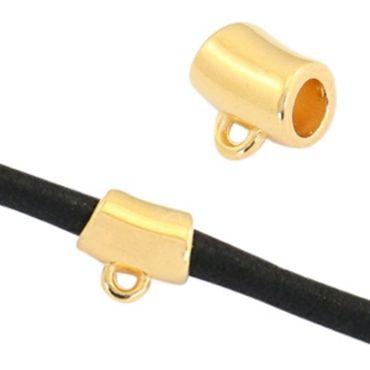 DQ Metalltube - 1 Stk. - für Ø 3,5 mm Bänder