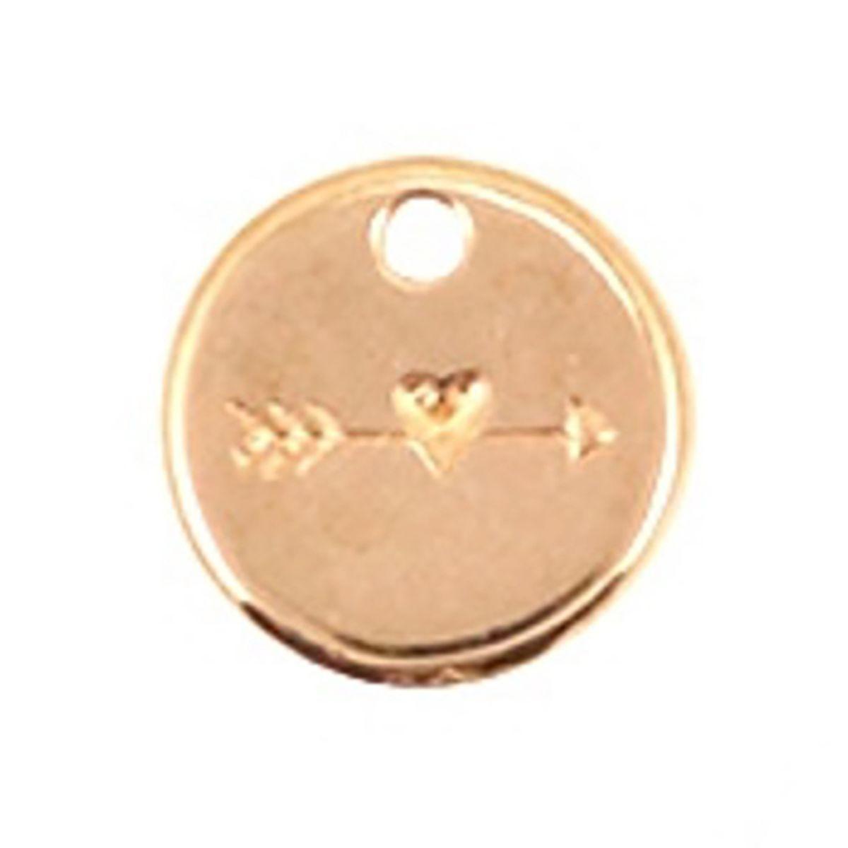 Schmuckanhänger Herz - 1 Stück - Ø 12 mm