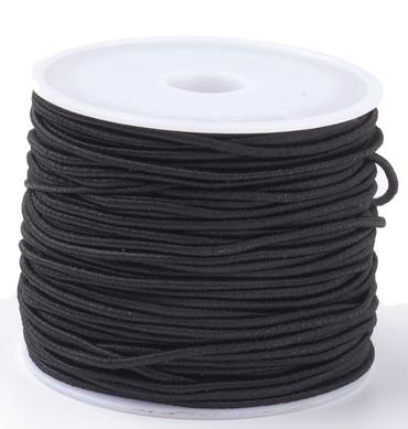 Elastikband, 15 Meter, 1mm Stärke, Farbe nach Wahl