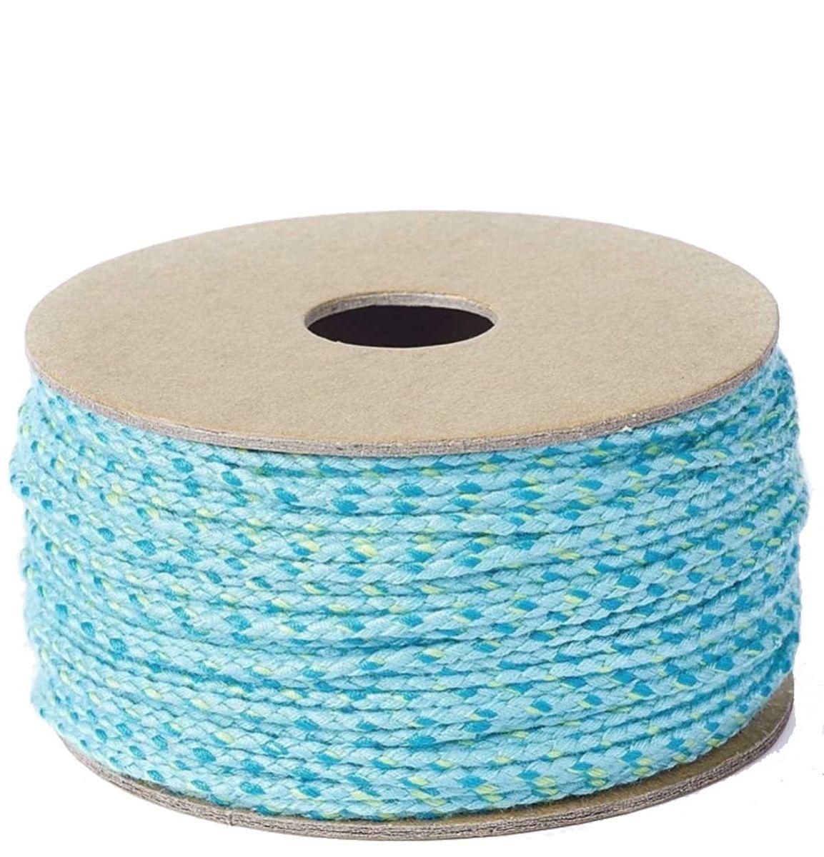 Baumwollkordel 2mm geflochten - 20 Meter - Farbe wählbar