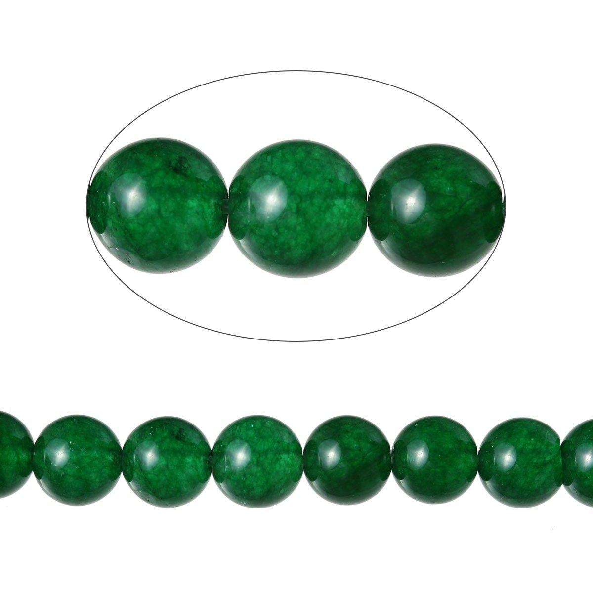 Achat Perlen - 49 Stk. - Ø 8 mm