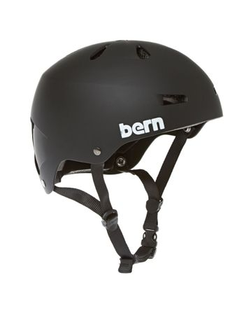 BERN Macon H2O Helmet Men Matte Black – Bild 1