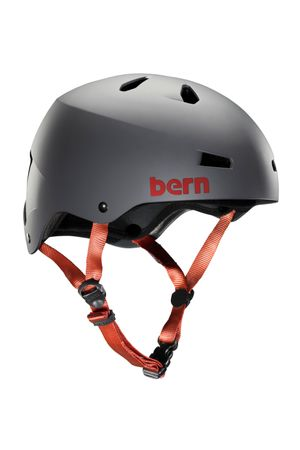 BERN Macon H2O Helmet Men Matte Grey – Bild 1