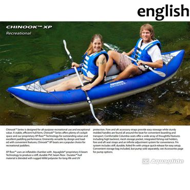 Aquaglide Kayak Chinook Two XP 2 Personen Kajak – Bild 7