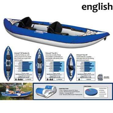 Aquaglide Kajak Chinook Two XP Kayak – Bild 8