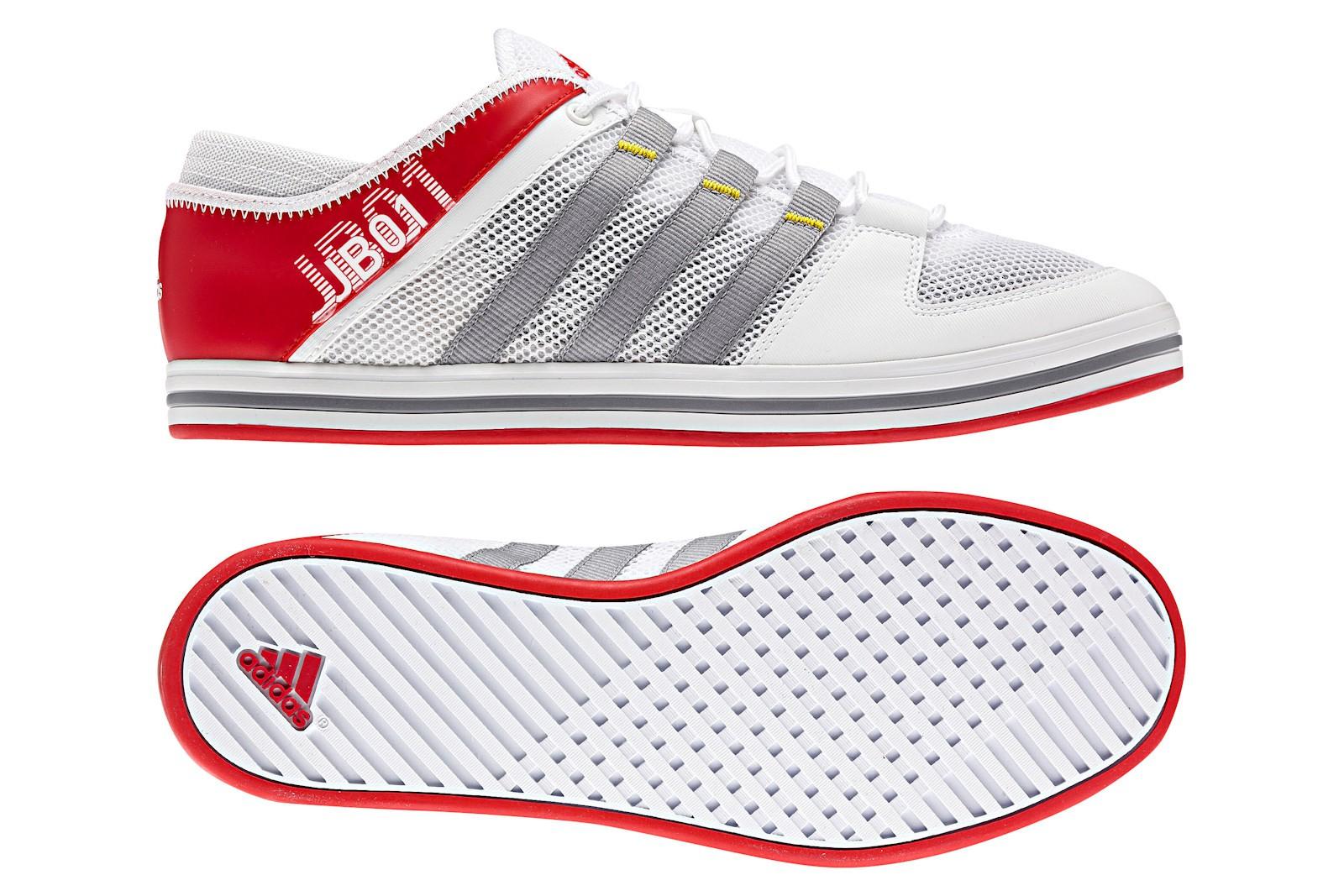 Adidas Sailing Shoes JB01 running white/alu/vivid red