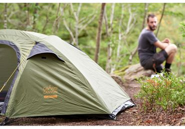 Grand Canyon Tent 'Apex 1' - 1 Person olive – Bild 9