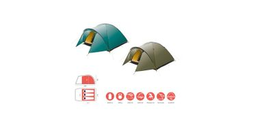 Grand Canyon Tent 'Topeka' - 3 Persons blue grass – Bild 2