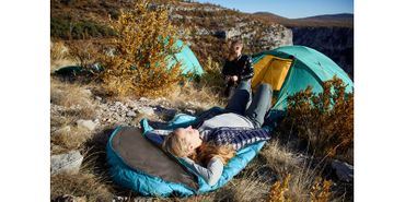 Grand Canyon Tent 'Topeka' - 3 Persons blue grass – Bild 7