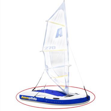 Aquaglide E-Teil Multisport Hull and Fin Kit